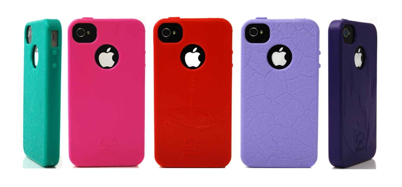 iNature - Custodia iPhone 100% biodegradabile - Colore: verde
